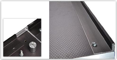 Nivtec-Stuhlhalteleiste 1m